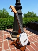 Image of Eddy Finn Soprano Banjolele w/set up