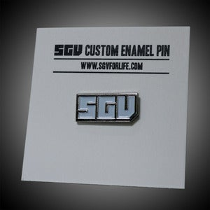 Image of SGV logo pin