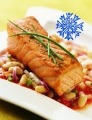 Image of Add On:: 3 lb just frozen Copper River King Salmon - portioned fillet - sold by the lb