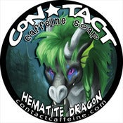 Image of Soap: Hematite Dragon - Sandalwood, Amber, Cedarwood, Vanilla