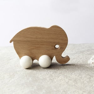 Image of Solid Oak White Elephant