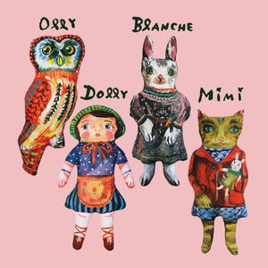 Image of Plush Dolls by Nathalie Lt 