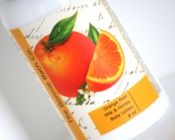 Image of Orange Peel Milk and Honey Body Lotion
