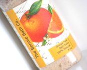 Image of Orange Peel Aromatherapy Bath Salts With Dried Orange Peel