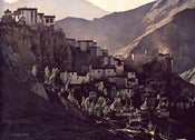 "Image of Bellows Print ""Himalayan Landscape I"" - small"