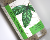 Image of Mint and Nettle Aromatherapy Bath Salts With Dried Mint Leaves