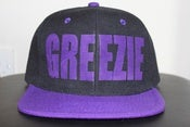Image of Snapback - Black & Purple