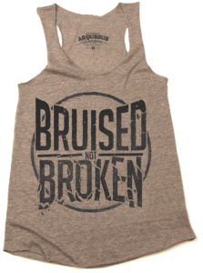 Image of BRUISED NOT BROKEN - LADIES TANK TOP