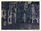 Image of Untitled  (Pierrefonds Courtyard), art print