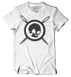 SKULL &amp; NEEDLES (White)