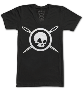 SKULL &amp; NEEDLES (V-Black)