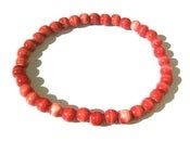 Image of Orange Beaded Bracelet