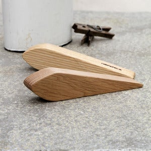 Image of Oak Door Wedges (Pair)