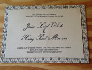 Image of Worthington Script Wedding Invitation Suite