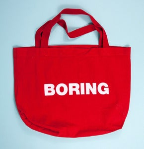 Image of BORING Tote Bag