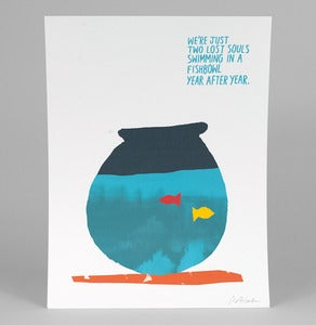 Image of WISH YOU WERE HERE Print