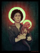 "Image of Ellen Ripley - Limited Edition 18""x24"""