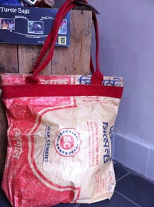 Image of Cement bag tote