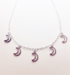 Image of Crescent Moon charm necklace