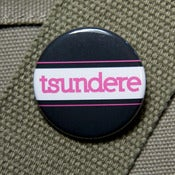 Image of Tsundere anime trope button