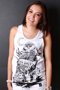 Image of Predator and Prey white tank