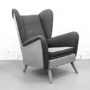 Image of Bespoke Vintage Wing Chair