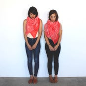 Image of Shibori Cotton Scarf