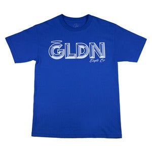Image of GLDN Chiseled Tee SS in Royal Blue 