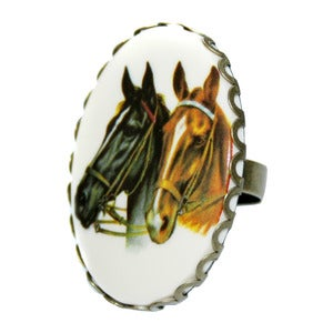 Image of Horse Play Cameo Ring