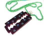 Image of Razor Blade Necklace