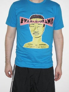 Image of Evans Pyramid Album Cover T-shirt