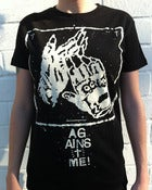 Image of Against Me! - Gloves Womens T-Shirt