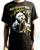 Image of Against Me! - Black Me Out T-Shirt