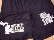 Image of GTBC Spirit-Filled Michigan Athletic Shorts