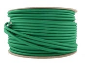 Image of PEA GREEN | fabric lighting flex cable | ROUND