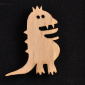 Image of Shilo Wooden Brooch
