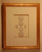 Image of Framed intaglios - &quot;Elyse&quot; design