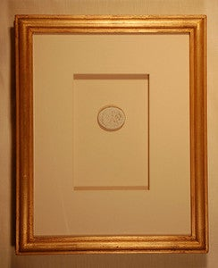 "Image of Framed Intaglios - ""Yancey"" Design"