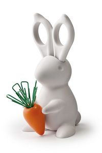 Image of BUNNY SCISSORS AND CLIPS DESK TIDY