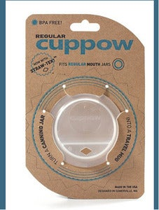 Image of New! Cuppow For Regular Size Jars w/Straw-Tek
