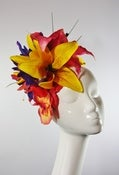 Image of Tropical Flower Fascinator