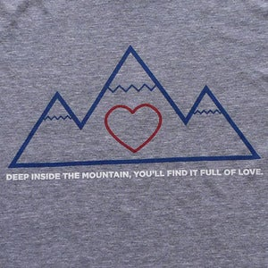 Image of Deep Inside the Mountain... T-Shirt.