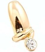 Image of Crystal Nail Ring (Gold or Silver)