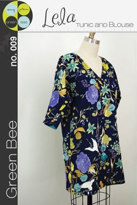 Image of Lela Tunic and Blouse Pattern PREORDER