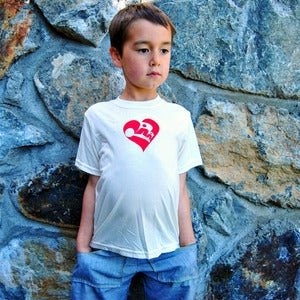 Image of Butterfly Heart Children's Tee