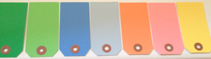 Image of Shipping Tags - Medium Colored