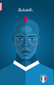 Image of Mario Balotelli Poster