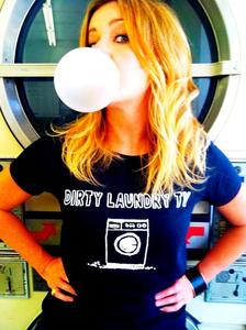 Image of DIRTY LAUNDRY TV T-SHIRT + MUDHONEY &quot;I'M IN&quot; DVD