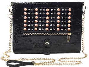 Image of Elizabeth - Studded Black