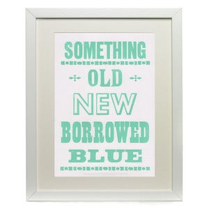 Image of Something Old New Borrowed Blue